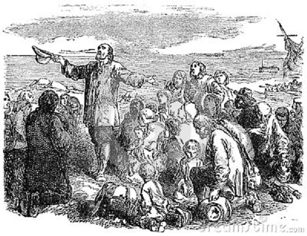 pilgrim-fathers-leaving-england-engraved-illustration-victorian-book-dated-no-longer-copyright-327132361