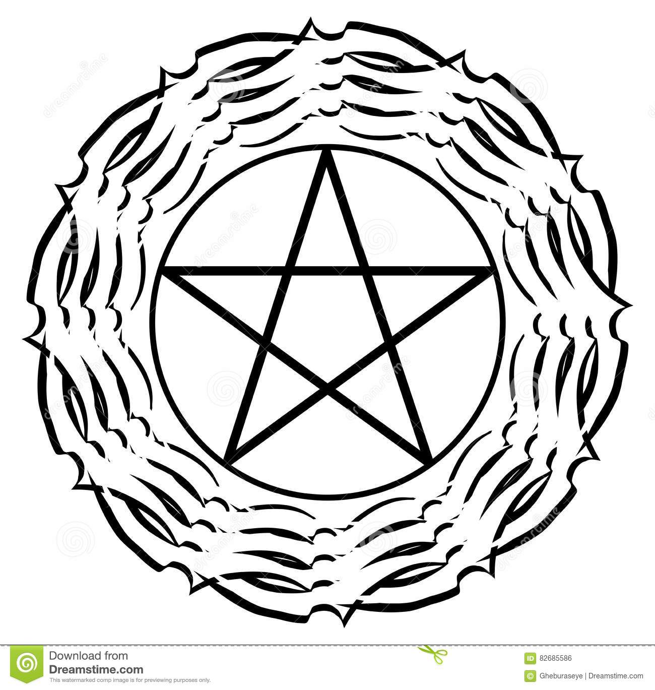 pentacle-black-decoration-isolated-image-repersenting-esoteric-symbol-image-not-representing-satanic-version-82685586[1]